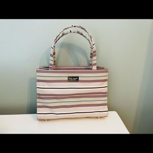 Kate Spade vintage striped box purse 👜